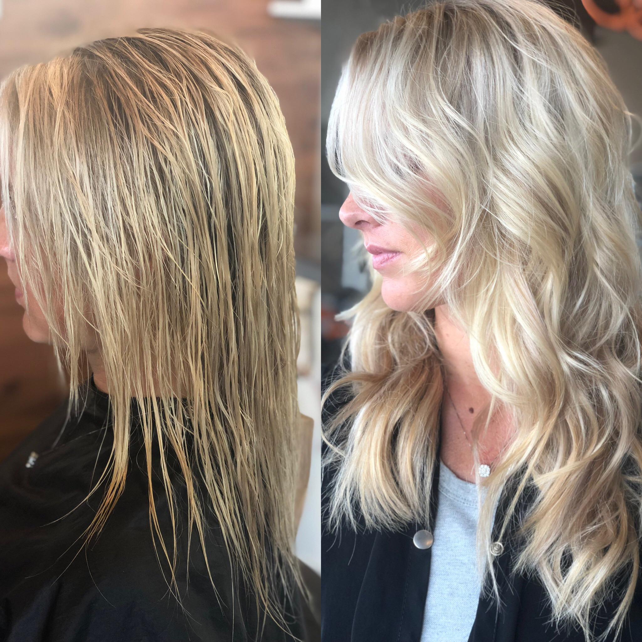 Natural Beaded Rows Kansas City Stylist Transformation 2